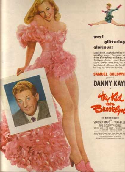 The Kid From Brooklyn (Danny Kaye) (1946)