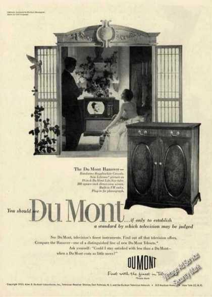 Dumont Hanover Television Hepplewhite Console (1950)