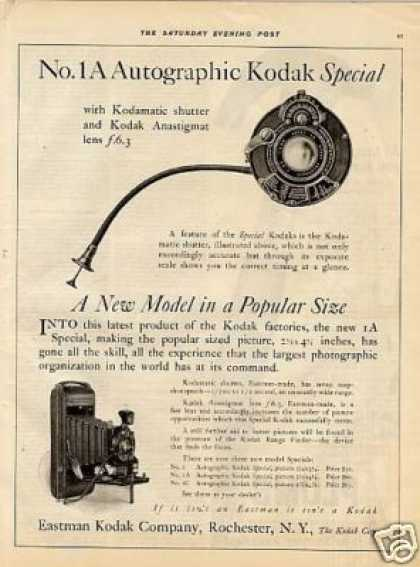 Eastman Kodak Camera (1923)