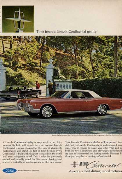 Lincoln Continental Sedan and Coupe (1966)