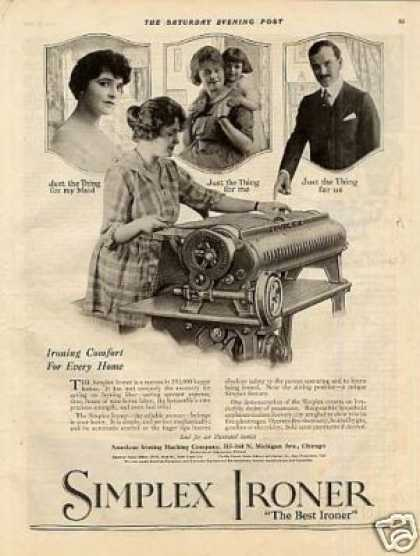Simplex Ironer (1920)