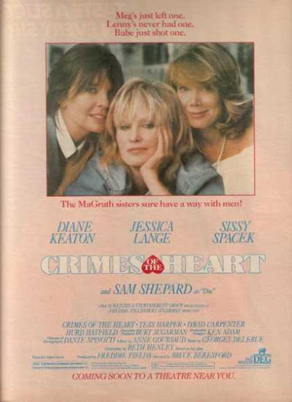 Crimes of the Heart (Diane Keaton, Jessica Lange and Sissy Spacek) (1986)