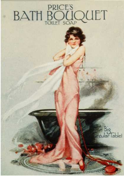Price's Bath Bouquet, UK (1920)