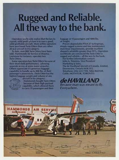 Hammonds Air Service de Havilland Twin Otter (1982)