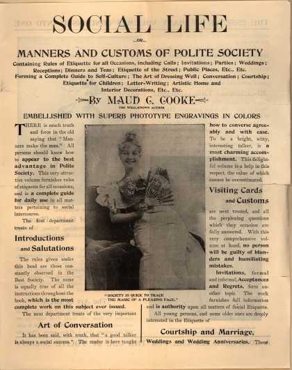 Cooperative Pub. Co.'s Social Life...or...Manners and Customs of Polite Society – Social Life