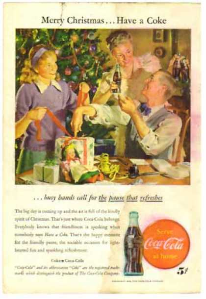 Coke Christmas &#8211; Sold (1946)