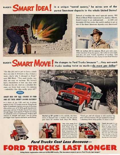Ford Truck Trucks Last Longer (1950)
