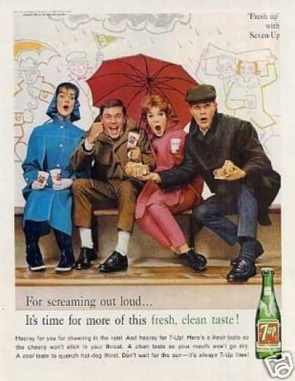 "Seven-up Ad ""For Screaming Out Loud... (1961)"