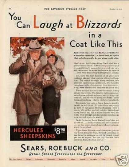 Sears, Roebuck and Co. Hercules Sheepskin Coats (1929)