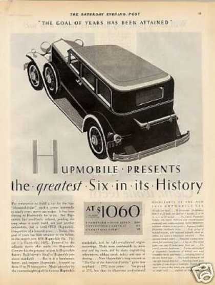 Hupmobile Six Car (1929)