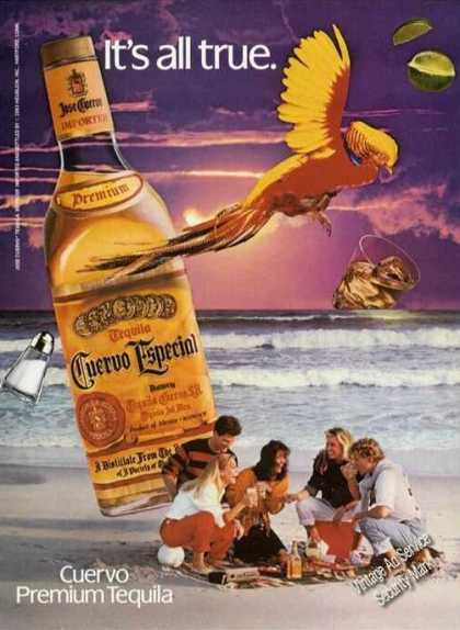 Cuervo Tequila It's All True (1983)