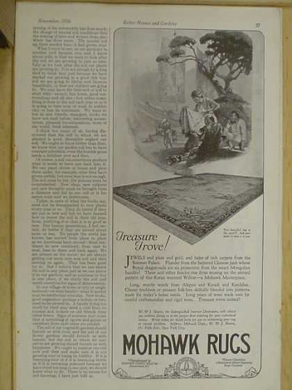 Mohawk Rugs Treasure Trove (1926)