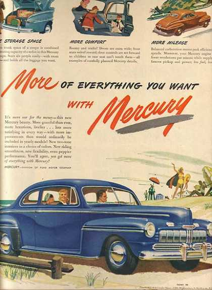 Ford's Mercury (1946)