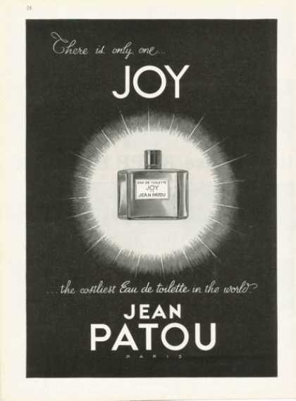 Jean Patou Joy Perfume Bottle (1959)