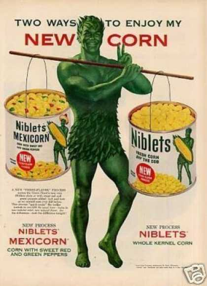 Green Giant Corn (1954)