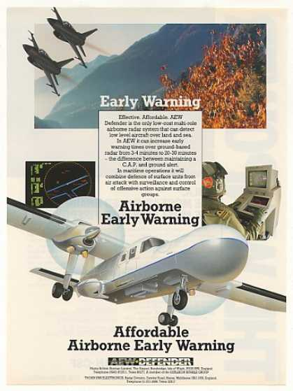 Pilatus AEW Defender Early Warning Aircraft (1987)