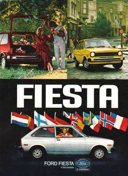 Ford Car – Ford FIESTA / Silver (1977)
