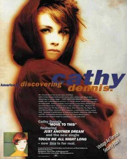Impressive Cathy Dennis Photo (d-mob) Music (1991)