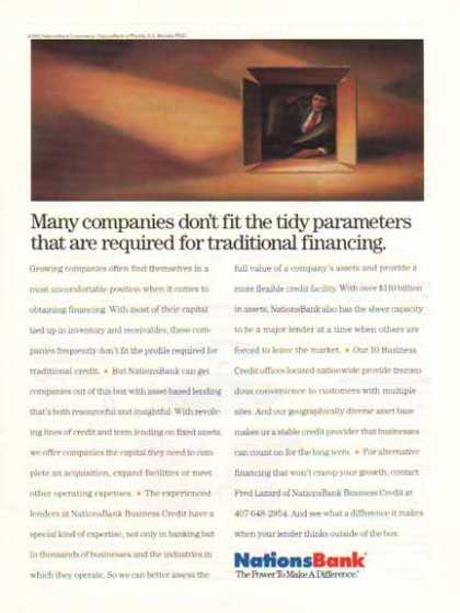 Nations Bank – Many companies don't fit (1992)