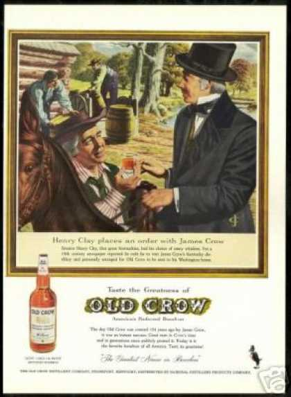 Senator Henry Clay Old Crow Whiskey Vintage (1959)