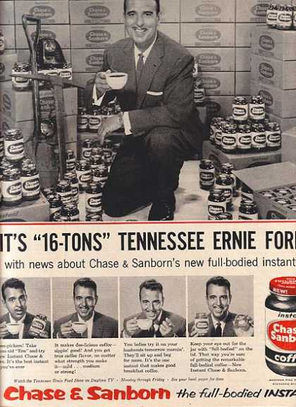 Chase & Sanborn's Instant Coffee (1956)