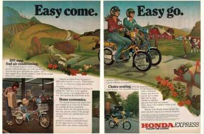 Honda Express Moped Motorcycle (1980)