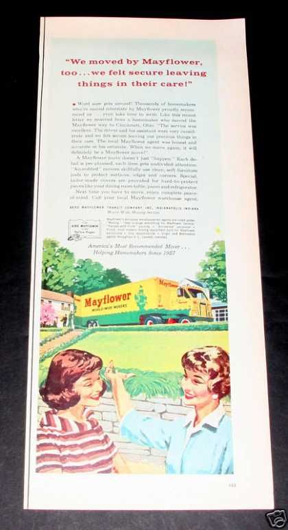 Mayflower World-wide Moving, Exc (1961)