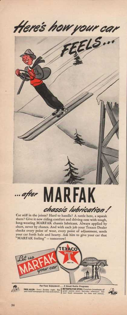 Texaco Dealers Marfak Chassis Lubricatio (1942)