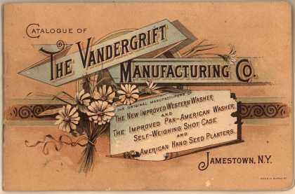 Vandergrift Mfg. Co.'s Western Washer, Pan-American Washer, Hand Seed Planters – Catalogue of The Vandergrift Manufacturing Co.