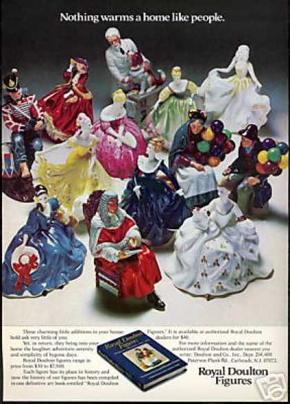 Royal Doulton Assorted Figurines Photo (1978)