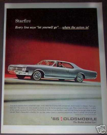 Oldsmobile Starfire T-stick Car Photo (1965)
