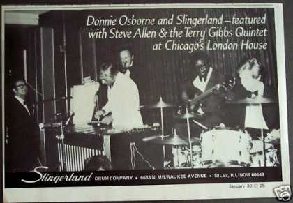 Donnie Osborne Slingerland Drums Music (1975)