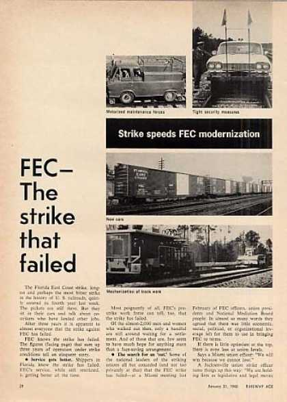 """Fec: The Strike That Failed"" Article (1966)"