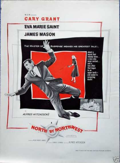 North By Northwest Cary Grant Alfred Hitchcock (1959)