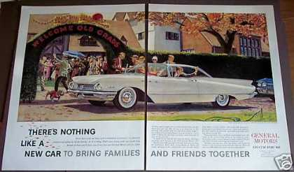 Gm Buick Car for '60 Class Reunion (1959)