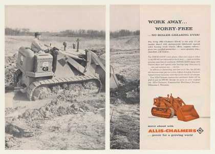Allis-Chalmers HD-6G Tractor Shovel 2-Page (1960)