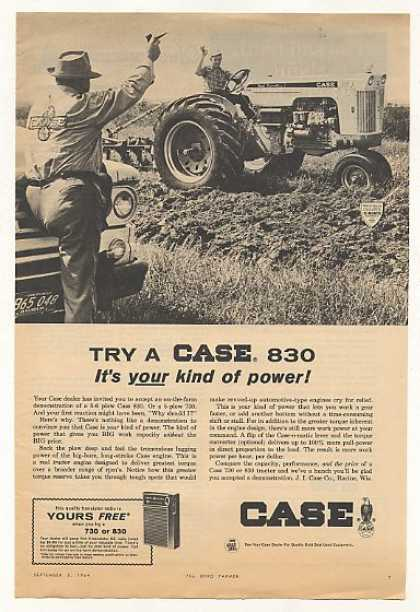Case 830 Tractor Your Kind of Power Photo (1964)