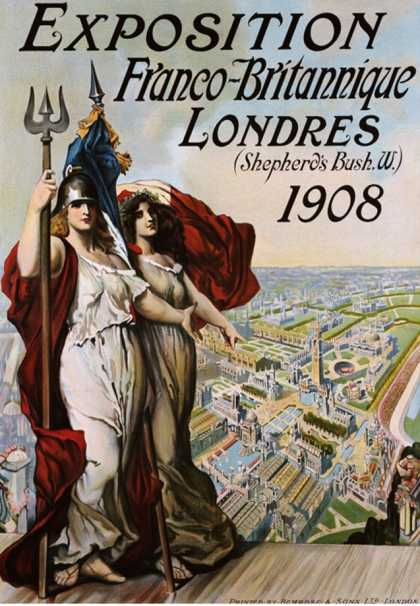 Exposition Franco-Britannique, Londres (Shepherd's Bush) (1908)