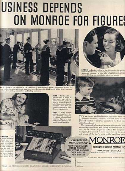 Monroe (Monroe Calcuating Machines) (1938)
