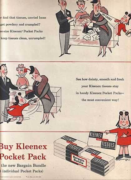 (Kleenex Pocket Pack) (1956)
