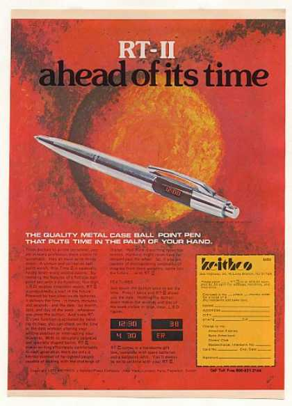 Keithco RT-II Ball Point Watch Pen (1977)