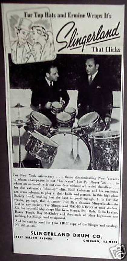 Original Slingerland Drums (1938)