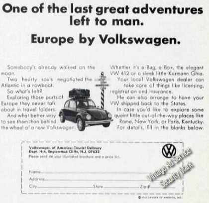 Europe By Volkswagen Last Great Adventure (1973)