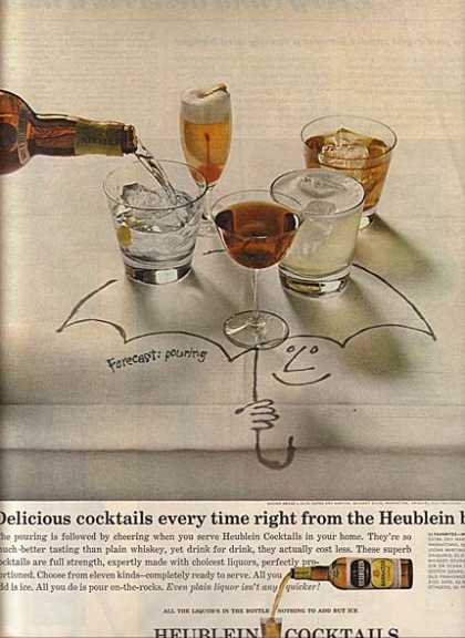 Heublein's Cocktails in a Bottle (1963)
