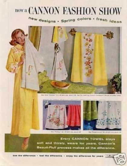 Cannon Towels (1960)