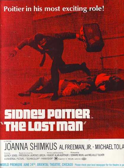 The Lost Man (Sidney Poitier and Joanna Shimkus) (1969)
