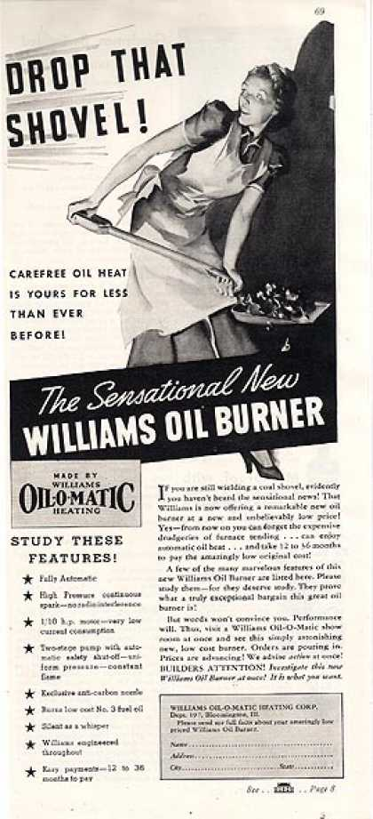 William's Oil Burner Furnace (1937)