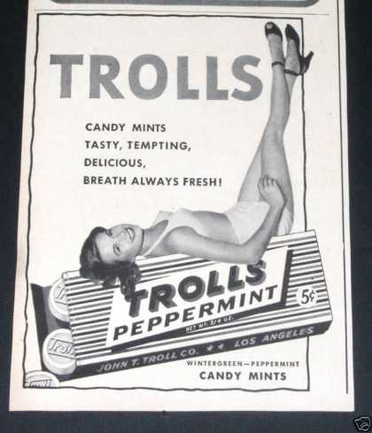 Trolls Peppermint Candy (1946)