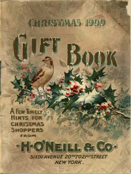 H. O&#8217;Neill &amp; Co.&#8217;s books &#8211; Christmas 1900 Gift Book (1900)