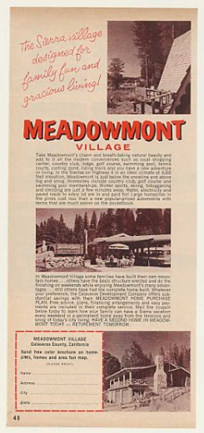 Meadowmont Village California Home Sites (1964)